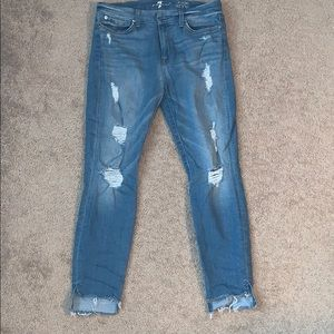 Like brand new Seven Jean ankle skinny